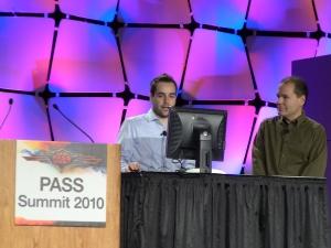 Adam Wilson (Microsoft) - слева
