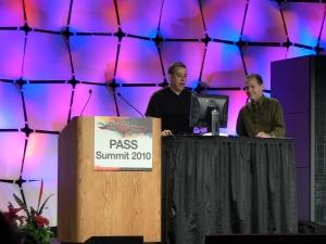 Amir Netz (Microsoft) - слева
