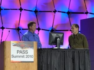 Bob Ward (Microsoft) - слева