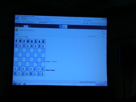 шахматы с помощью Excel Services