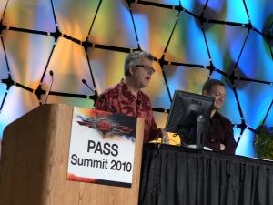 Дон Бокс (уважаемый инженер SQL Server, Microsoft) и Квентин Кларк (главный менеджер Microsoft)