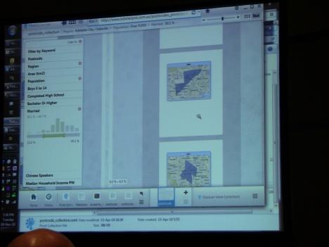 отображение изображений карт в Pivot