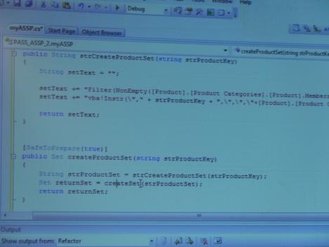 Создание проекта .net для ASSP