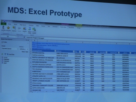 Управление мета-информацией в Excel с помощью надстройки Master Data Services в SQL Server «Denali» - прототип