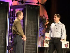 Dave Mariani (Yahoo) - справа