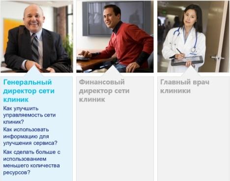 Генеральный директор сети клиник